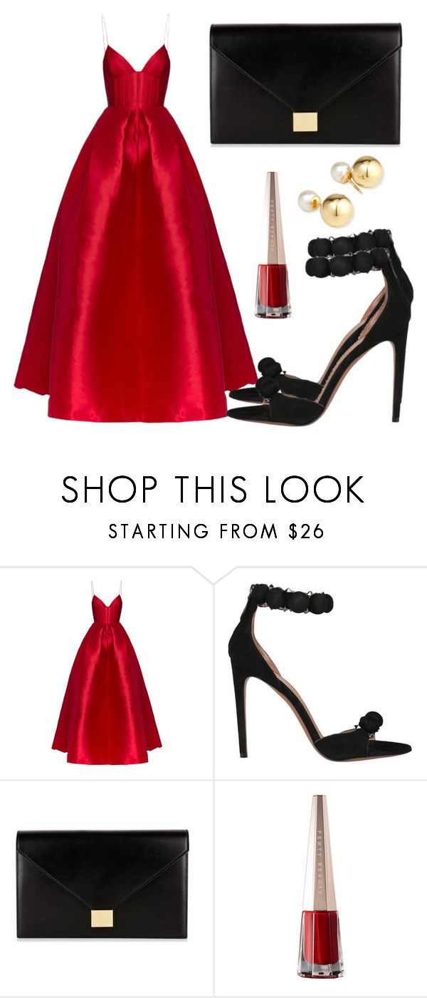 """""""Untitled #5601"""" by beatrizvilar ❤ liked on Polyvore featuring Alex Perry, Alaïa, Victoria Beckham and Yoko London"""