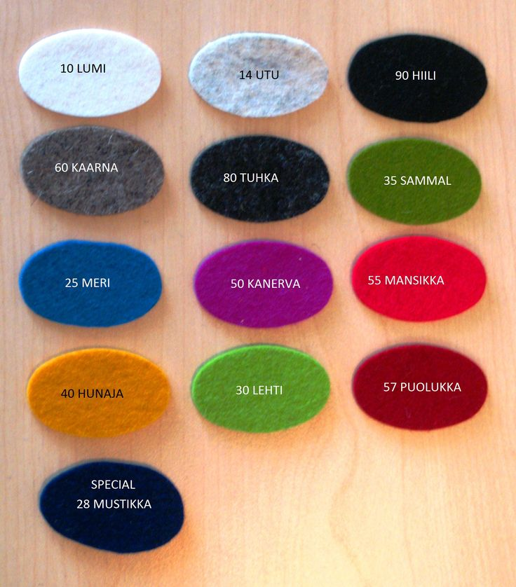 Värikartta vuodelle 2015-16. Available colours to the year 2015-16. Material made of 100% europe woolfelt. Machine washable, unique hats. Sizes baby sidez 46-58. When ordering, it´s possible to have different sizes. #sauna #hottub #saunahats #design #leenifinland #handwork #wemakehats #finnish