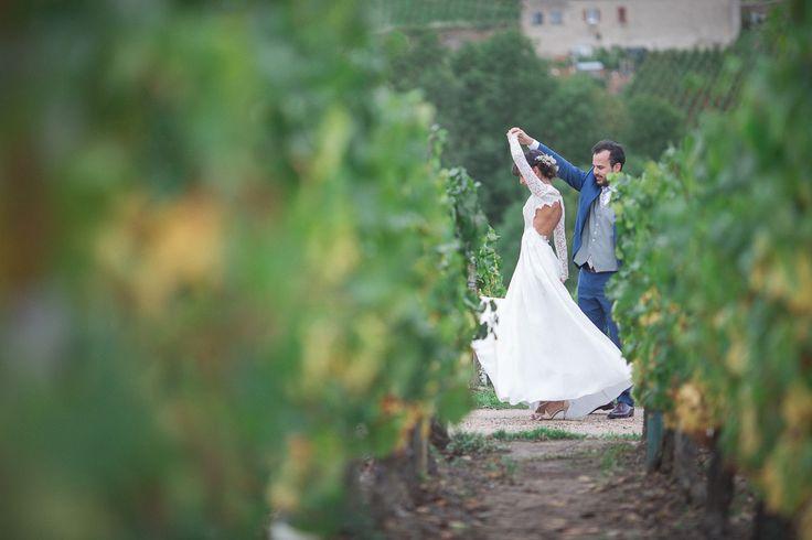 CALENDRIER DE L'AVENT DLBM #1ER DÉCEMBRE #M&C : MARIAGE CHAMPÊTRE AU MILIEU DES VIGNES | Dans les Baskets de la Mariée