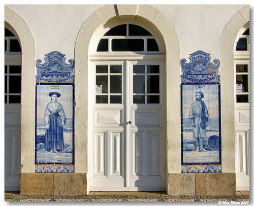 AVEIRO - railway station detail, Portugal S. Filipe Castel . Setubal - Portugal Explore Portugal in our facebook page : https://www.facebook.com/enjoyportugalcountry OR our website : www.enjoyportugal.eu