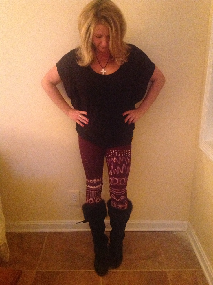So excited about my new pants from etsy store livinhipsta tooooo
