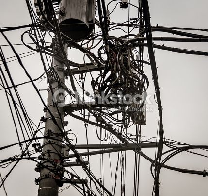 power line tangled - Google Search