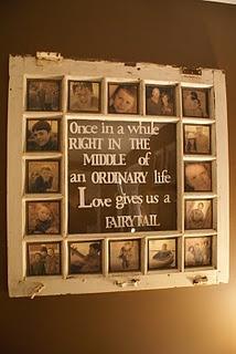 <3  love old windows for frames