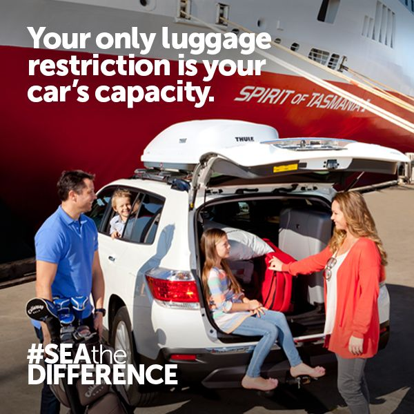 Your only luggage restriction is your car's capacity.