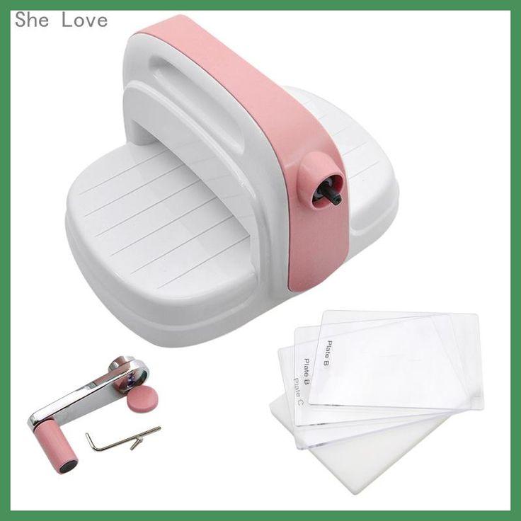 She Love Die Cutting Embossing Machine Scrapbooking Cutter Piece Die Cut Paper Cutter Die-Cut Machine