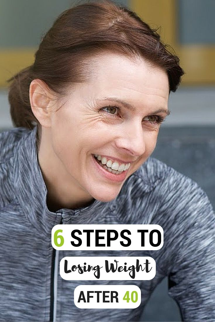 You don't have to feel like weight loss after 40 is impossible. Here are six ways to lose that extra weight after 40!