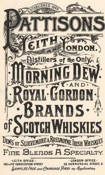 Pattison's Morning Dew 1896-1900 Bartholomew Archive Blog                                                                                                                                                      More