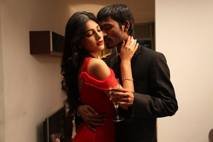 Dhanush and Shruti Hassan Hot Pics