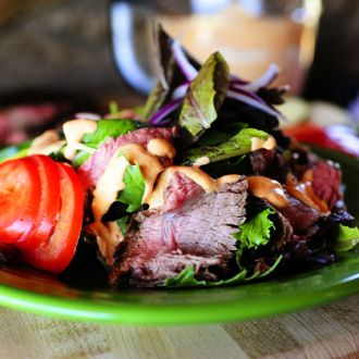 There are few things I love more than a big green salad with sliced grilled steak on top. Whenever Marlboro Man and I land at this steakhouse or that, I'm always drawn to the steak salads on …