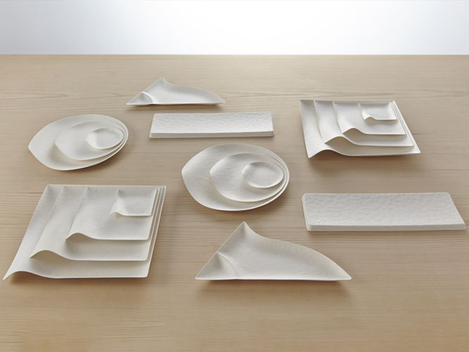WASARA - compostable paper tableware designed and made in Japan