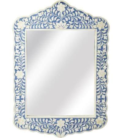 bone inlay mirror - Google Search