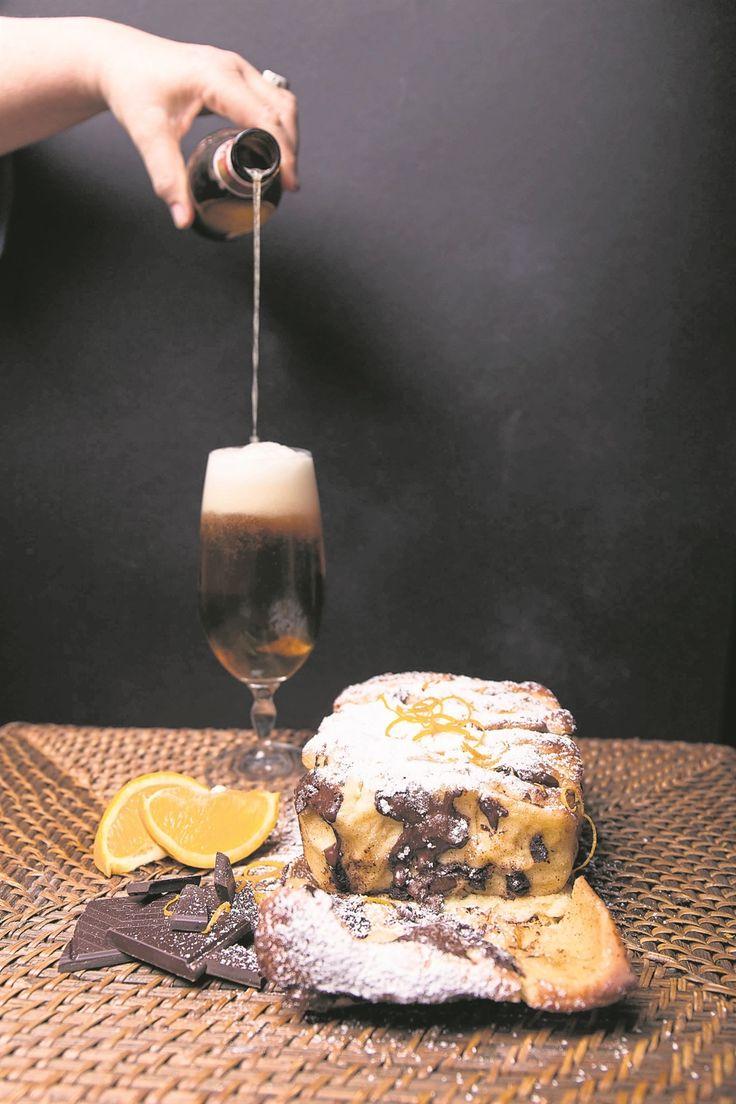Sjokolade-en-lemoen-lostrek-bierbroodjie.