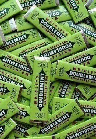 Doublemint doublemint gum! The perfect favor, if you remember the commercial from 1988.