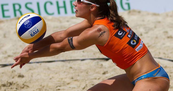 beach volleyball girl 4k ultra hd wallpaper
