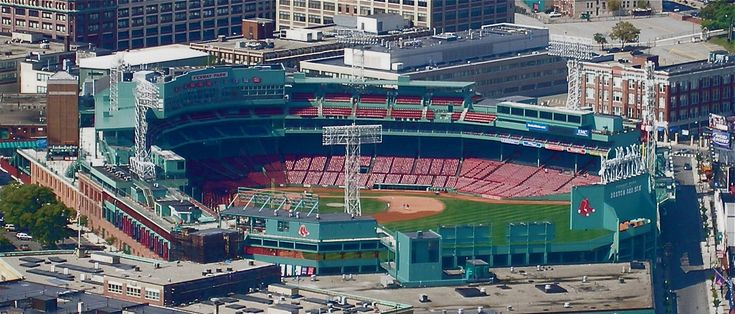 Fenway Park, Boston, Massachusetts - Home of the Boston Red Sox