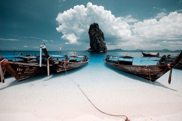 Остров Пода, Таиланд  #travel #travelgidclub #путешествия #traveling #traveler #beautiful #instatravel #tourism #tourist #природа #Таиланд #Thailand #пляж #остров #island