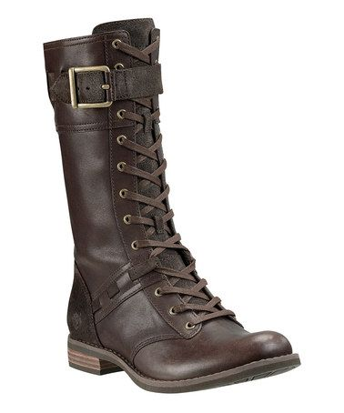 Take a look at this Dark Brown Savin Hill Mid Boot - Women by Timberland on