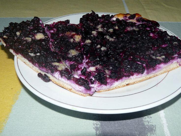 Jak upéct borůvkový koláč s tvarohem   recept