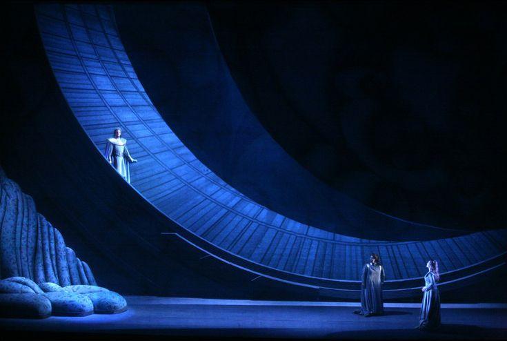 TRISTAN UND ISOLDE by Richard Wagner | set designer PIER'ALLI