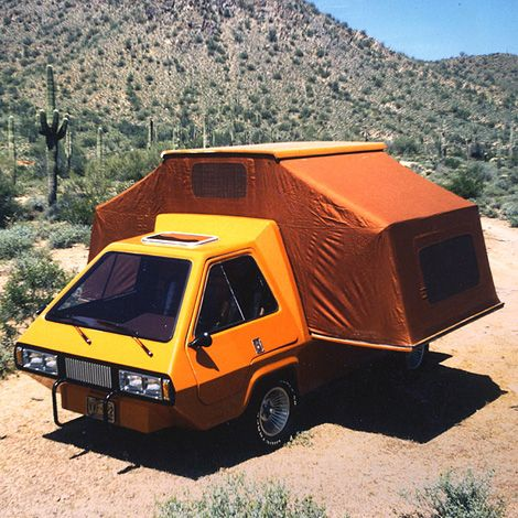 Phoenix VW van conversion. First featured in Popular Mechanics magazine in March, 1978, Phoenix was a VW-based van conversion that was designed to expand the space, tent-trailer style.