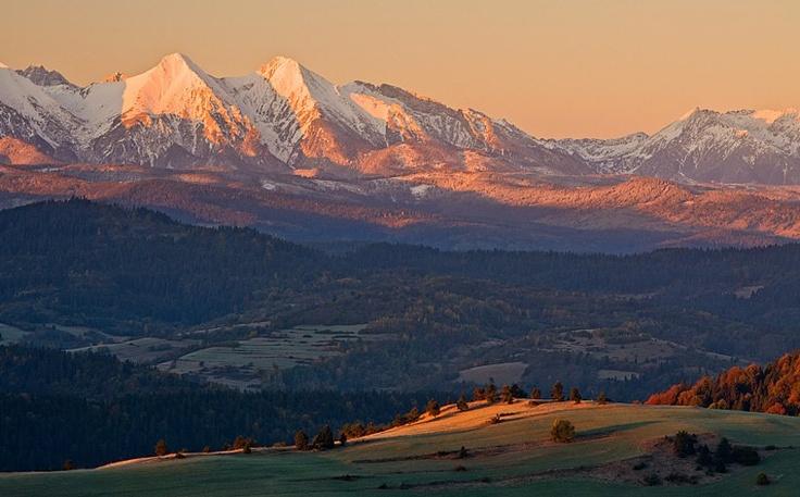 morning in Tatras, Slovakia