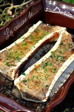Os à moelle rôti au four, au piment d'Espelette - La cuisine de Doria