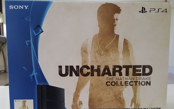 Sony ps4 includes uncharted 1 2 &3 brand new system