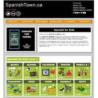 Spanish Vocabulary for Kids --free online activities