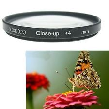 58mm Macro Close-Up +4 Close Up Filter  for Canon Rebel T6s T6i T5i T4i T3i T2i