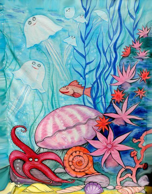 Рисунки на морскую тему в картинках
