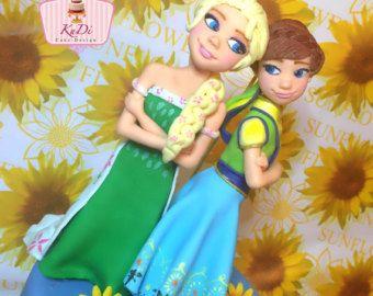 10 Stück eingefroren Fieber Elsa Anna Tutu von rizastouchofflair