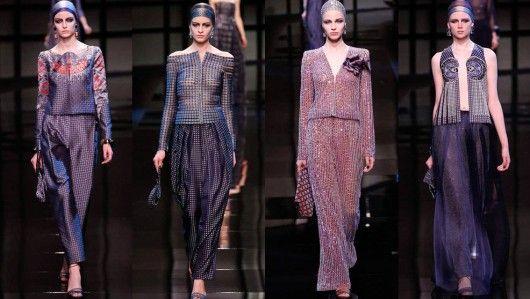 Paris Fashion Week Haute Couture 2014: Armani Privé