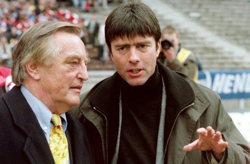 ... der DFB-Pokalsieg 1997 unter Trainer Joachim Löw. Dass MV den beliebten Fußballlehrer dennoch schasst ... Foto: dpa