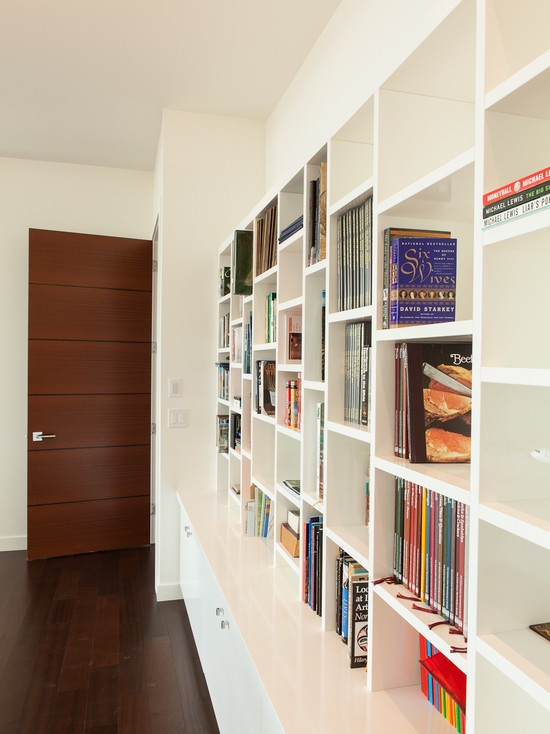 Wall bookcase plans design for the home pinterest for Wall library design
