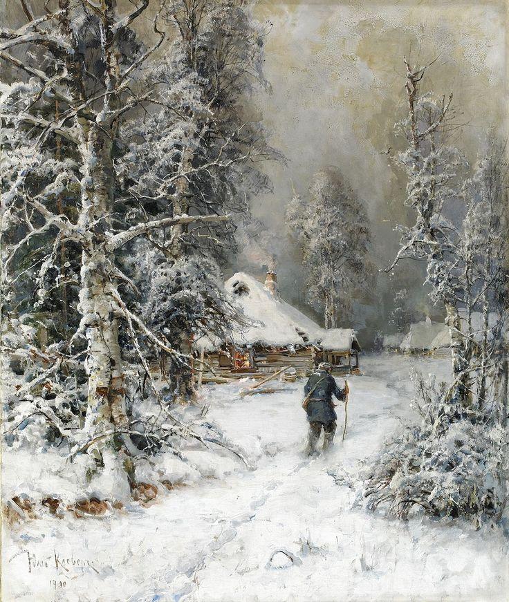 узор получается зима картины или фото упустить