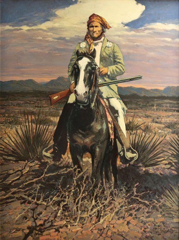 Tony Eubanks- Geronimo, Desert Renegade