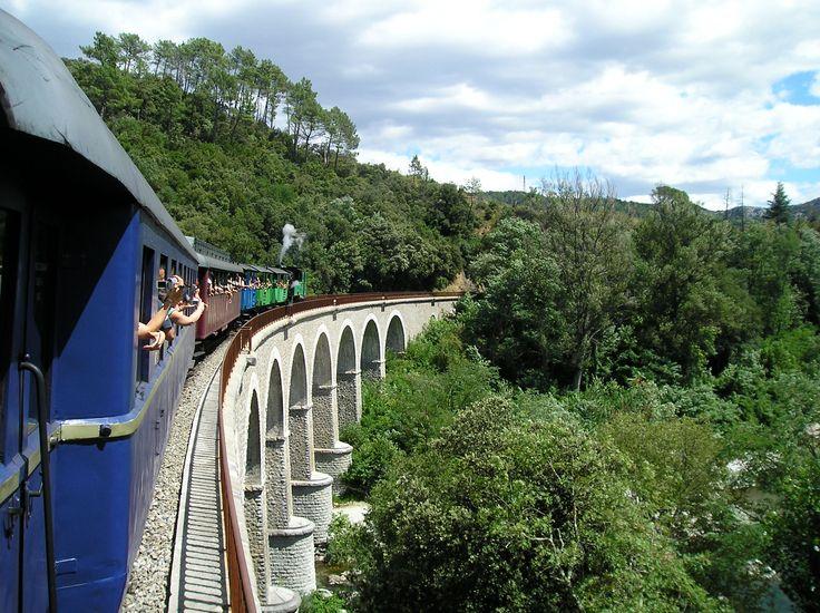 train à vapeur Anduze  (Gard)