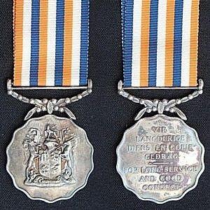 Permanent Force Good Service Medal, 1961.jpg