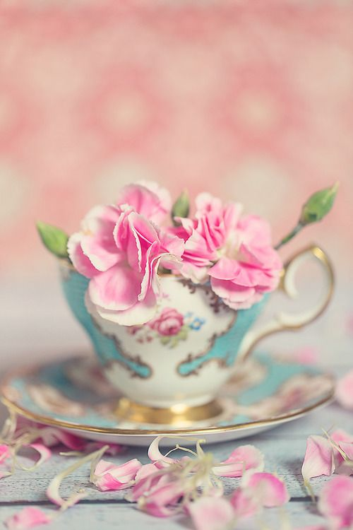 245 Best Blooms For The Tea Table Images On Pinterest