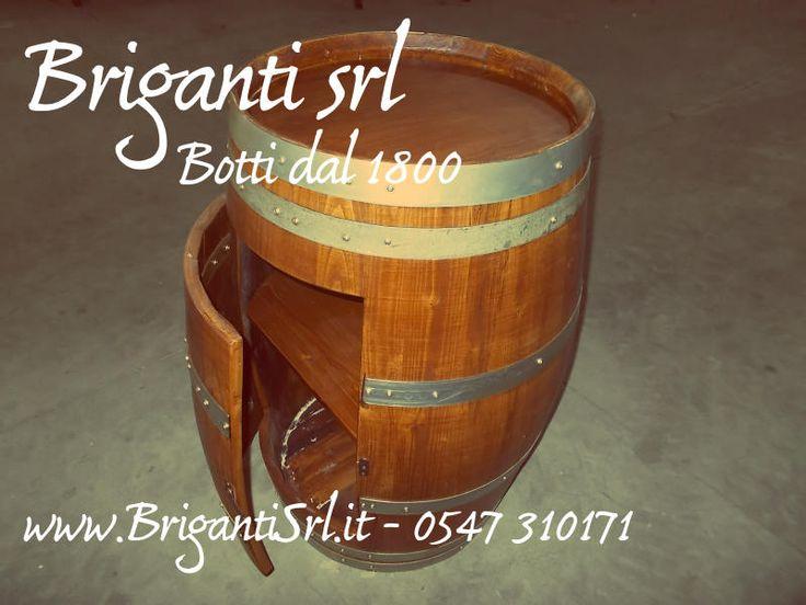 2092 - Portabottiglie a 1 anta - Briganti srl