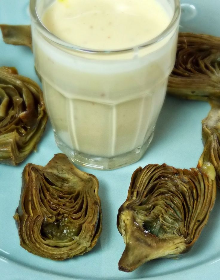 ... Honeybunch: Garlic Roasted Artichokes with Garlic Saffron Aioli: Sauce
