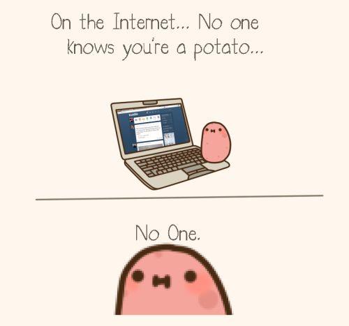 kawaii potato | Tumblr