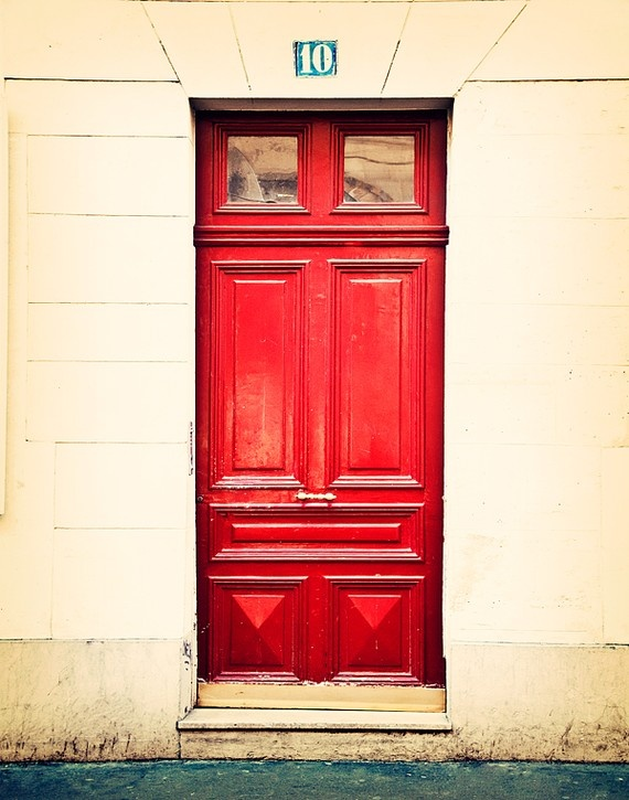 Photograph of a beautiful door in Montmartre Paris France by Tracey Capone & 36 best Portes du0027entrée Paris images on Pinterest | Blue doors ... pezcame.com