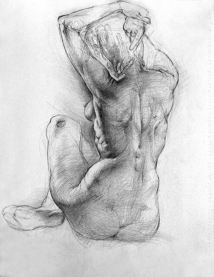 Nude female pencil drawings, high class softcore nudes