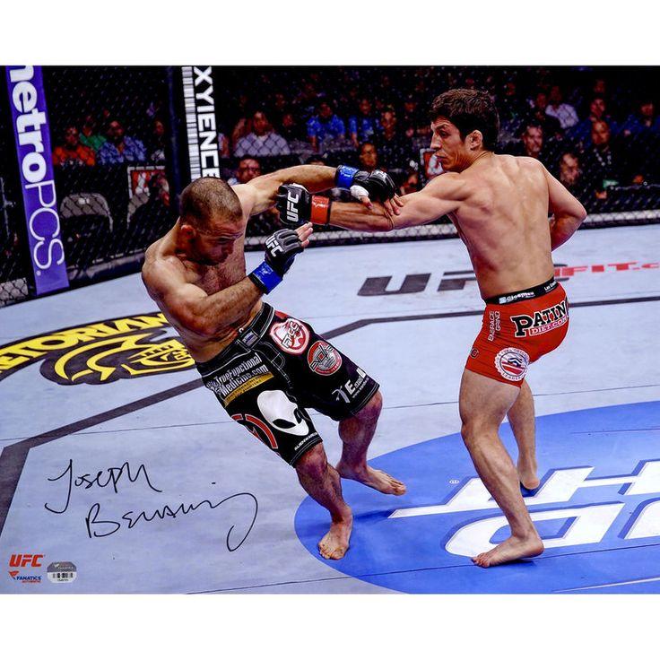 Joseph Benavidez Ultimate Fighting Championship Fanatics Authentic Autographed 16'' x 20'' Horizontal Knockdown Photograph