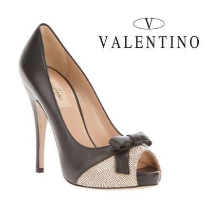 VALENTINO(ヴァレンティノ)★ピープトゥパンプス