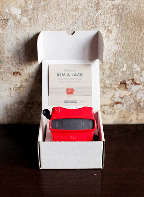 viewmaster wedding invites!