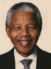 Nelson Mandela  Nelson Mandela was the first South African president of a truly democratic South Africa. He was elected president in 1994, in South Africa's first democratic vote, and served until 1999.