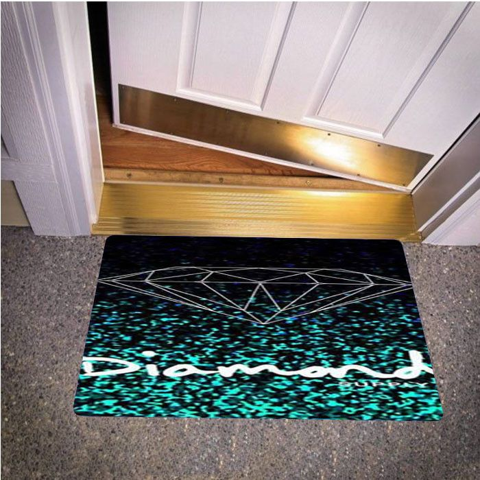GLITTER DIAMOND SUPPLY CO BEDROOM CARPET BATH OR DOORMATS