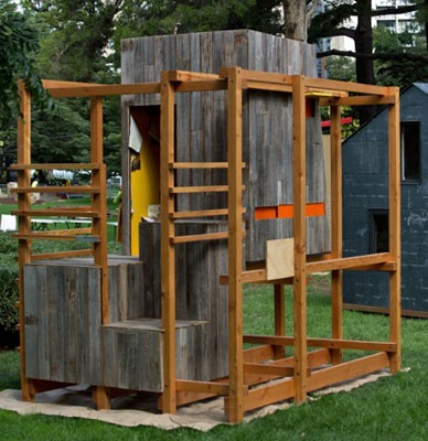The ultimate cubby houses